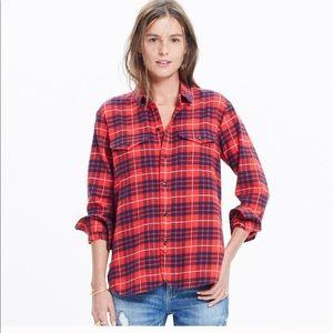 Madewell Flannel Cargo / Altamira plaid